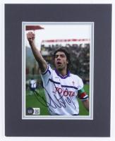 Rui Costa Signed ACF Fiorentina 8x10 Custom Matte Photo Display (Beckett COA) at PristineAuction.com