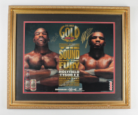 Mike Tyson & Evander Holyfield Signed 25x30 Custom Framed Poster Display (PSA COA) (See Description) at PristineAuction.com