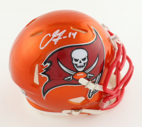 Chris Godwin Signed Buccaneers Flash Alternate Speed Mini Helmet (Beckett Hologram) (See Description) at PristineAuction.com