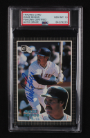 Wade Boggs Signed 1985 Donruss Action All-Stars #38 Baseball Card (PSA Encapsulated) at PristineAuction.com