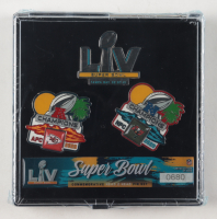 Tampa Bay Buccaneers LE 2020 Championship Pin Set at PristineAuction.com