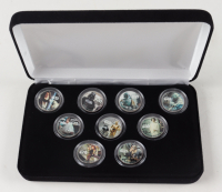 Star Wars LE Set of (9) Colorized Quarters at PristineAuction.com