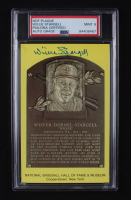 Willie Stargell Signed Hall of Fame Plaque Postcard (PSA Encapsulated) at PristineAuction.com