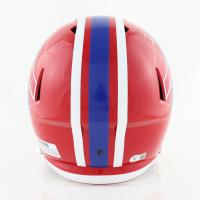 Stefon Diggs Signed Bills Speed Full-Size Helmet (Beckett Hologram) at PristineAuction.com