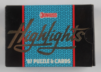 1987 Leaf Donruss Highlights Set of (56) Baseball Cards & Puzzle at PristineAuction.com