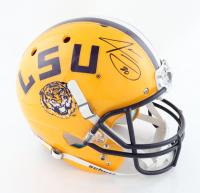 Jarvis Landry Signed LSU Tigers Full-Size Helmet (Beckett Hologram) at PristineAuction.com