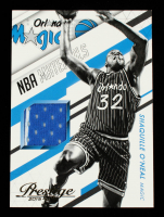 Shaquille O'Neal 2015-16 Prestige NBA Materials #12 at PristineAuction.com