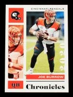 Joe Burrow 2020 Panini Chronicles #19 RC at PristineAuction.com