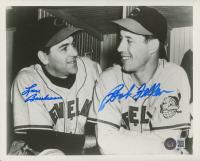 Bob Feller & Lou Boudreau Signed Indians 8x10 Photo (Beckett COA) (See Description) at PristineAuction.com