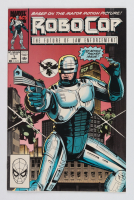 """""""RoboCop: The Future of Law Enforcement"""" Issue #1 Marvel Comic Book at PristineAuction.com"""