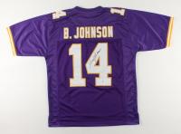 Brad Johnson Signed Jersey (Beckett COA) at PristineAuction.com