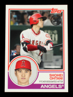 Shohei Ohtani 2018 Topps '83 Rookies #831 at PristineAuction.com