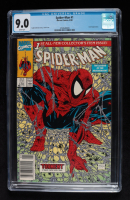 """1991 """"Spiderman: The Legend of the Arachknight"""" Issue #1 Marvel Comic Book (CGC 9.0) at PristineAuction.com"""