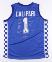Jersey Team-Signed by (12) with John Calipari, Jacob Toppin, Daimion Collins, Tyty Washington (Beckett COA) at PristineAuction.com