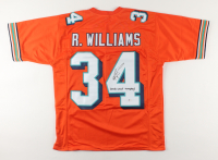 """Ricky Williams Signed Jersey Inscribed """"Smoke Weed Everyday"""" (Beckett COA) (See Description) at PristineAuction.com"""