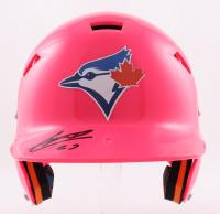 Vladimir Guerrero Jr. Signed Full-Size Batting Helmet (Beckett Hologram) at PristineAuction.com