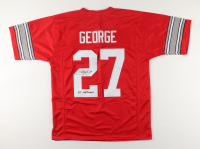 "Eddie George Signed Jersey Inscribed ""95 Heisman"" (JSA COA) at PristineAuction.com"