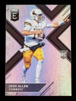 Josh Allen 2018 Elite Draft Picks #103B RC at PristineAuction.com