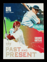 Babe Ruth / Shohei Ohtani 2018 Diamond Kings Past and Present #10 at PristineAuction.com