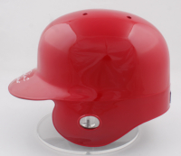 """Rhys Hoskins Signed Phillies Full-Size Authentic On-Field Batting Helmet Inscribed """"Big Fella"""" (Beckett COA) at PristineAuction.com"""