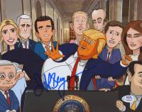 "Jeff Bergman Signed ""Our Cartoon President"" 8x10 Photo (PSA COA) at PristineAuction.com"