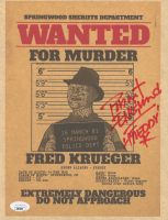 """Robert Englund Signed """"A Nightmare on Elm Street"""" 8x10 Photo Inscribed """"Freddy"""" (JSA COA) at PristineAuction.com"""