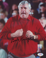 Bob Knight Signed Indiana Hoosiers 8x10 Photo (PSA COA) at PristineAuction.com