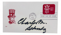 Charles Schulz Signed Uncle Sam First Day Cover Envelope (JSA LOA) at PristineAuction.com