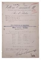 Benito Mussolini & King Victor Emmanuel III Signed Document (JSA LOA) at PristineAuction.com