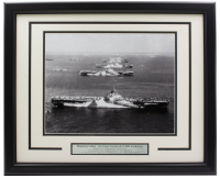 """US Navy """"Murderer's Row"""" 16x20 Custom Framed Photo Display at PristineAuction.com"""