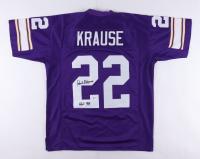 "Paul Krause Signed Jersey Inscribed ""HOF 98"" (Beckett Hologram) at PristineAuction.com"
