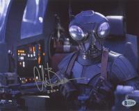 "Chris Bartlett Signed Star Wars ""The Mandalorian"" 8x10 Photo Inscribed ""Zero"" (Beckett COA) at PristineAuction.com"