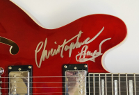 """Michael J. Fox, Christopher Lloyd, & Claudia Wells Signed """"Back to the Future"""" Full-Size Electric Guitar Inscribed """"Back To The Future"""" & """"Jennifer Parker"""" (JSA LOA & Beckett Hologram) at PristineAuction.com"""