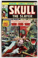 """1975 """"Skull The Slayer"""" Issue #1 Marvel Comic Book at PristineAuction.com"""
