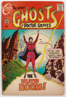 """1970 """"The Many Ghosts of Doctor Graves"""" Issue #21 Charlton Comic Book at PristineAuction.com"""