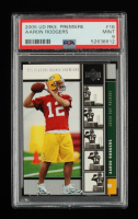 Aaron Rodgers 2005 Upper Deck Rookie Premiere #16 RC (PSA 9) at PristineAuction.com