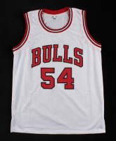"""Horace Grant Signed Jersey Inscribed """"3 Peat Champs"""" & """"91', 92', 93'"""" (JSA COA) (See Description) at PristineAuction.com"""