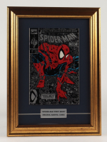 """Vintage 1990 """"The Amazing Spider-Man"""" Issue #1 12.5x17 Custom Framed Factory Sealed Marvel First Issue Comic Book at PristineAuction.com"""