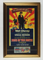"""Walt Disney's """"Song of the South"""" 16x24 Custom Framed Print Display with Br'er Rabbit Comic Book at PristineAuction.com"""