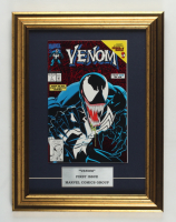 """1992 Marvel """"Venom Lethal Protector"""" 13x17 Custom Framed First Issue Red Variant Comic Book Display at PristineAuction.com"""