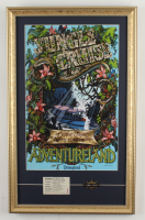 """Disneyland Jungle Cruise 15x24 Custom Framed Photo Display With an Official Ride Pin & Vintage """"E"""" Ticket at PristineAuction.com"""