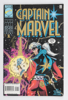 """1995 """"Captain Marvel"""" Issue #1 Marvel Comic Book at PristineAuction.com"""