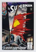"1993 ""Superman"" Issue #2 D.C. Comics Comic Book at PristineAuction.com"