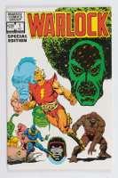 """1982 """"Warlock"""" Special Edition Issue #1 Marvel Comic Book at PristineAuction.com"""