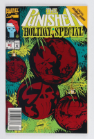 """1992 """"The Punisher"""" Holiday Special Issue #1 Marvel Comic Book (See Description) at PristineAuction.com"""
