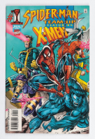 """1995 """"Spider-Man Team-Up"""" Issue #1 Marvel Comic Book at PristineAuction.com"""