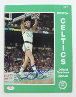 Larry Bird Signed Celtics 1980-81 Official Yearbook (PSA COA) (See Description) at PristineAuction.com