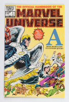 """1983 """"Official Handbook of The Marvel Universe"""" Issue #1 Marvel Comic Book at PristineAuction.com"""