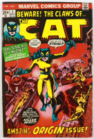 """1972 """"The Cat"""" Issue #1 Marvel Comic Book at PristineAuction.com"""