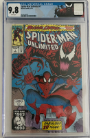 """1993 """"Spider-Man Unlimited"""" Issue #1 Marvel Comic Book (CGC 9.8) at PristineAuction.com"""